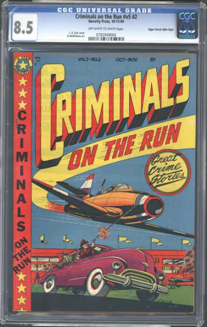 CGC Graded Comics - Criminals on the Run #v5 #2 (CGC)