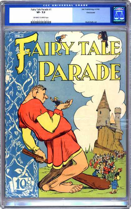 CGC Graded Comics - Fairy Tale Parade #1 (CGC) - Fairy Tale Parade - Giant - Castle - Humans - Clauds