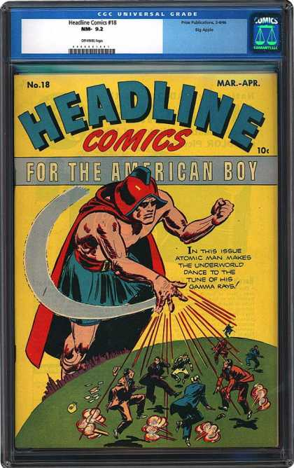CGC Graded Comics - Headline Comics #18 (CGC)