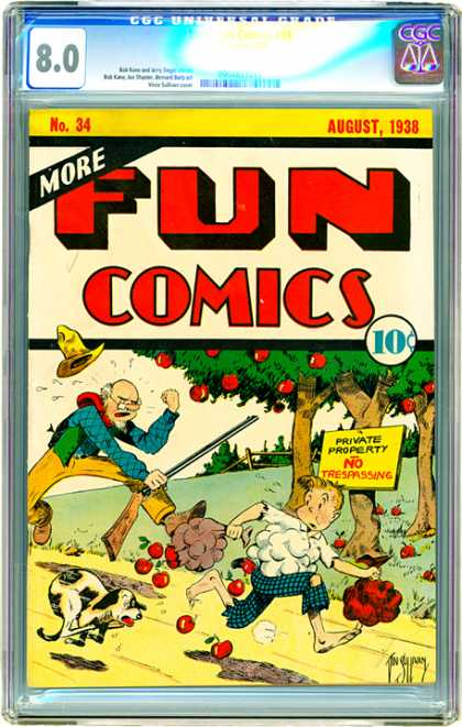 CGC Graded Comics - More Fun Comics #34 (CGC)