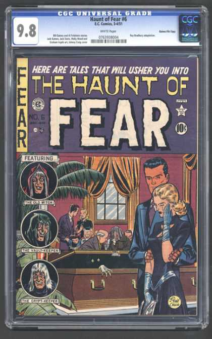 CGC Graded Comics - Haunt of Fear #6 (CGC)