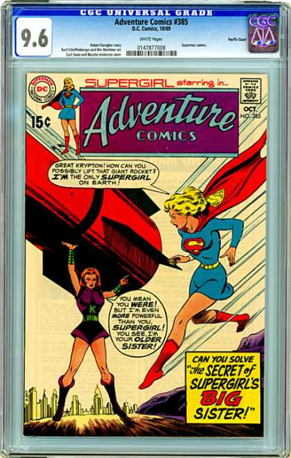 CGC Graded Comics - Adventure Comics #385 (CGC)