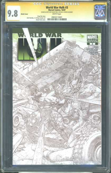 CGC Graded Comics - World War Hulk #3 (CGC)