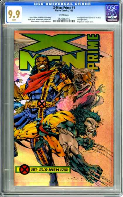 CGC Graded Comics - X-Men: Prime #1 (CGC)