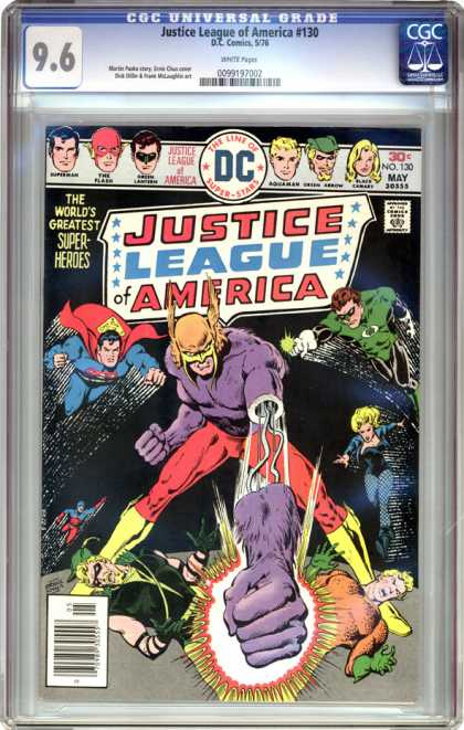 CGC Graded Comics - Justice League of America #130 (CGC)