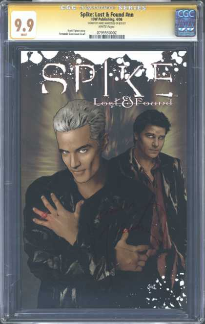 CGC Graded Comics - Spike: Lost & Found #nn (CGC) - Spike - Grey Hair - Black Leather Jacket - Rint - Lost And Found