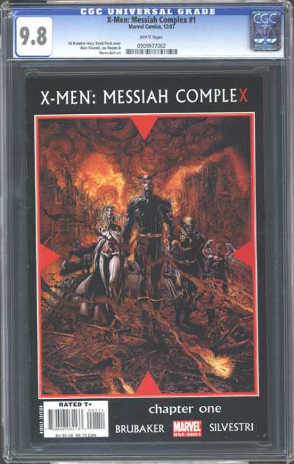 CGC Graded Comics - X-Men: Messiah Complex #1 (CGC)