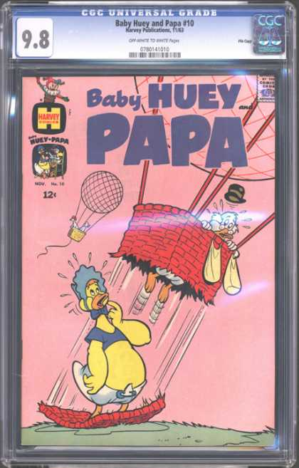 CGC Graded Comics - Baby Huey and Papa #10 (CGC)