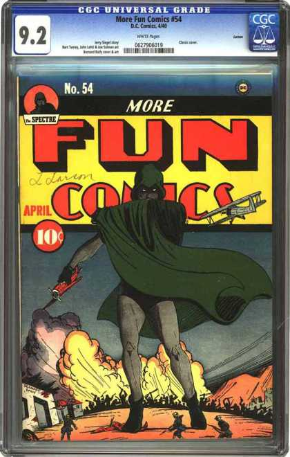 CGC Graded Comics - More Fun Comics #54 (CGC)