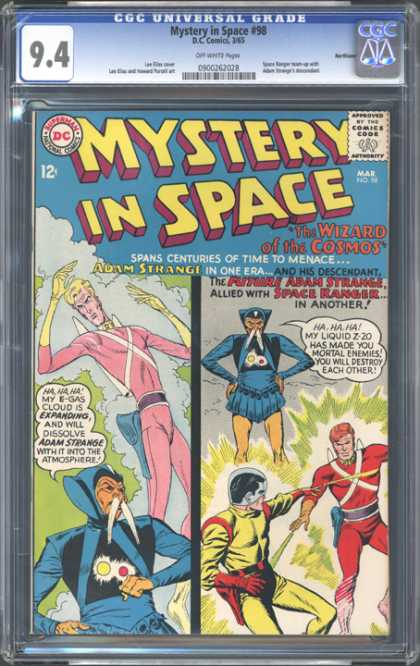 CGC Graded Comics - Mystery in Space #98 (CGC)