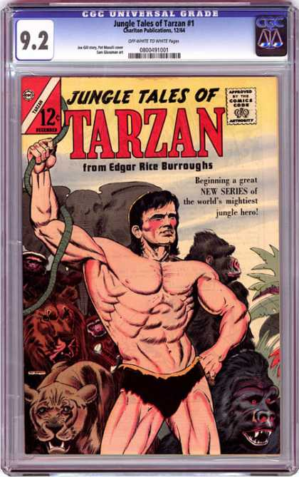 CGC Graded Comics - Jungle Tales of Tarzan #1 (CGC)