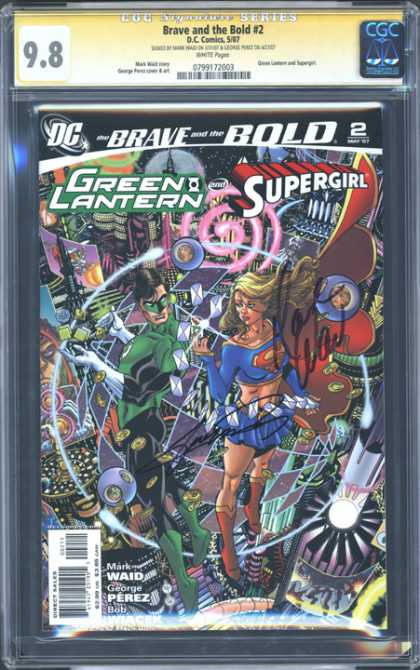 CGC Graded Comics - Brave and the Bold #2 (CGC)