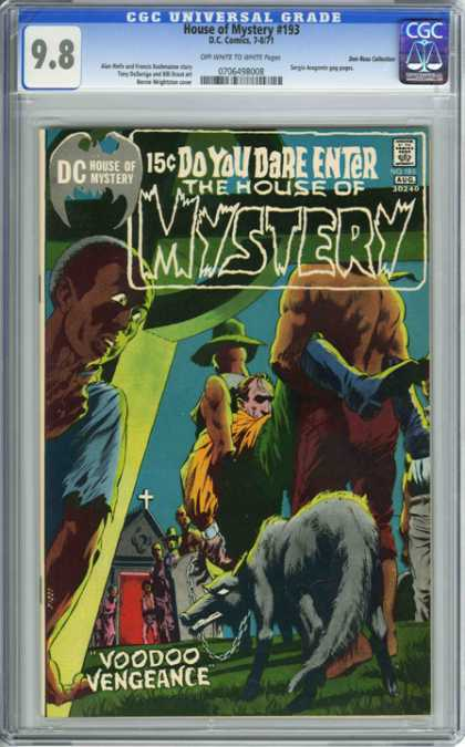 CGC Graded Comics - House of Mystery #193 (CGC) - Dc - House Of Mystery - Wolf - Voodoo Vengeance - African American