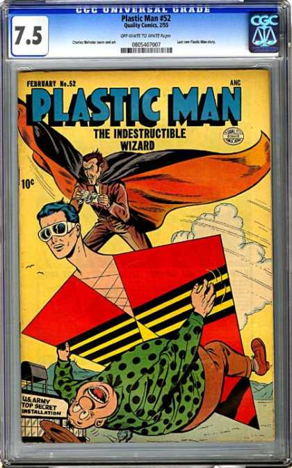 CGC Graded Comics - Plastic Man #52 (CGC)