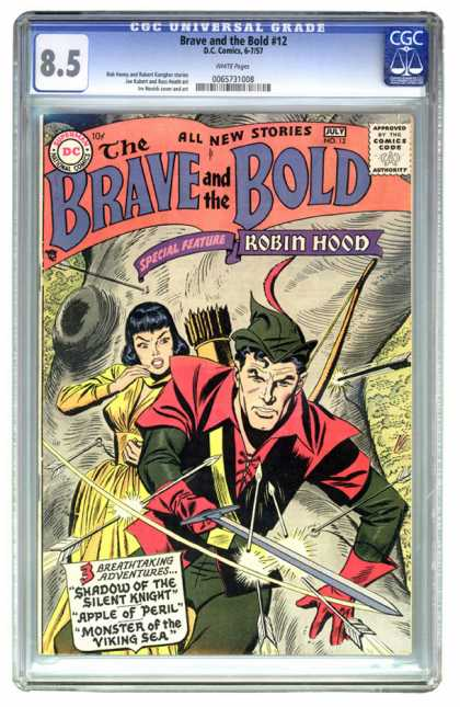 CGC Graded Comics - Brave and the Bold #12 (CGC)
