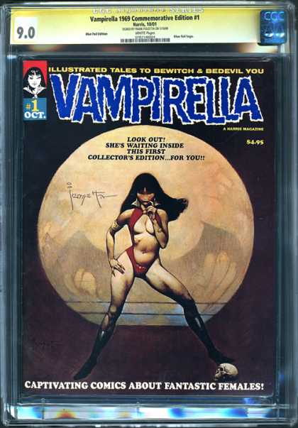 CGC Graded Comics - Vampirella 1969 Commemorative Edition #1 (CGC)