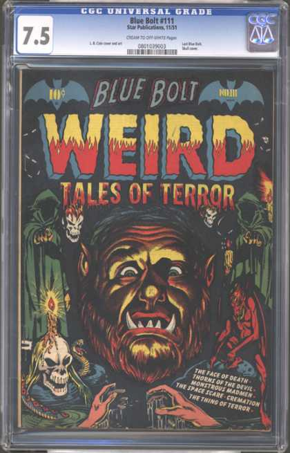 CGC Graded Comics - Blue Bolt #111 (CGC)