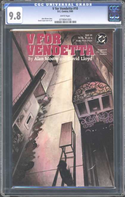 CGC Graded Comics - V for Vendetta #10 (CGC)