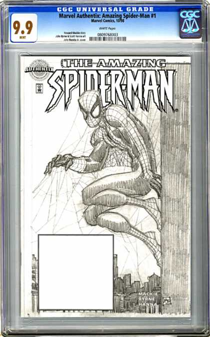 CGC Graded Comics - Marvel Authentix: Amazing Spider-Man #1 (CGC)