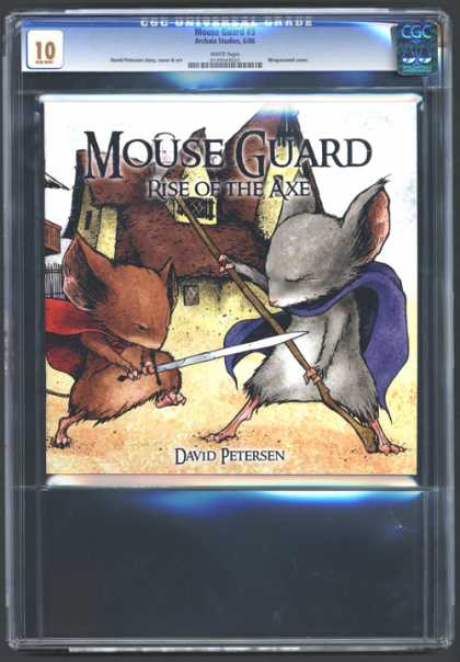 CGC Graded Comics - Mouse Guard #3 (CGC)