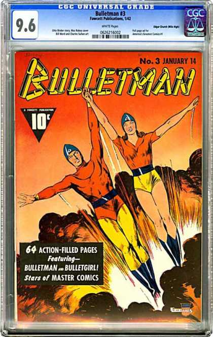 CGC Graded Comics - Bulletman #3 (CGC)