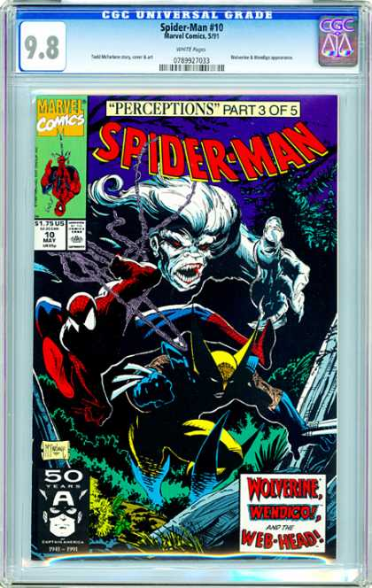 CGC Graded Comics - Spider-Man #10 (CGC)
