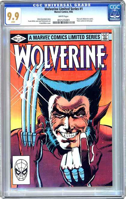 CGC Graded Comics - Wolverine Limited Series #1 (CGC)