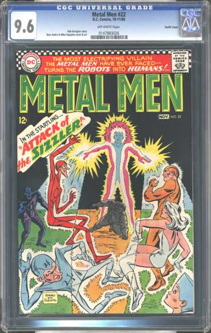 CGC Graded Comics - Metal Men #22 (CGC)