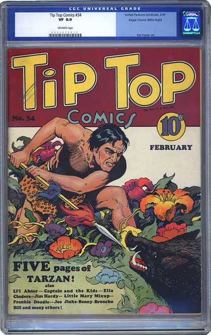 CGC Graded Comics - Tip Top Comics #34 (CGC)