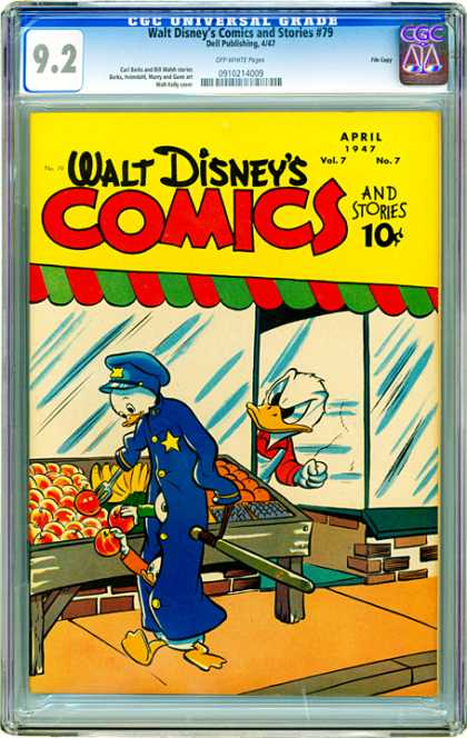 CGC Graded Comics - Walt Disney's Comics and Stories #79 (CGC)