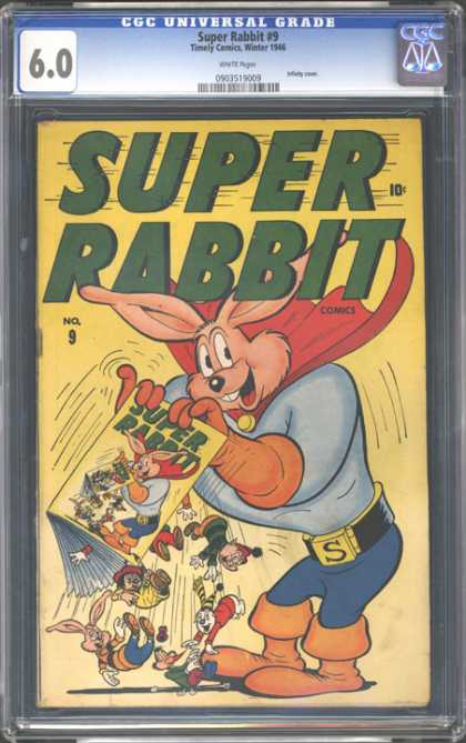 CGC Graded Comics - Super Rabbit #9 (CGC)