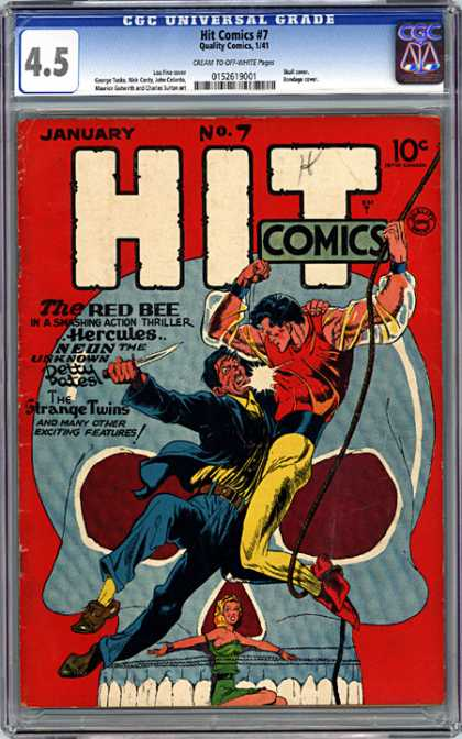 CGC Graded Comics - Hit Comics #7 (CGC)