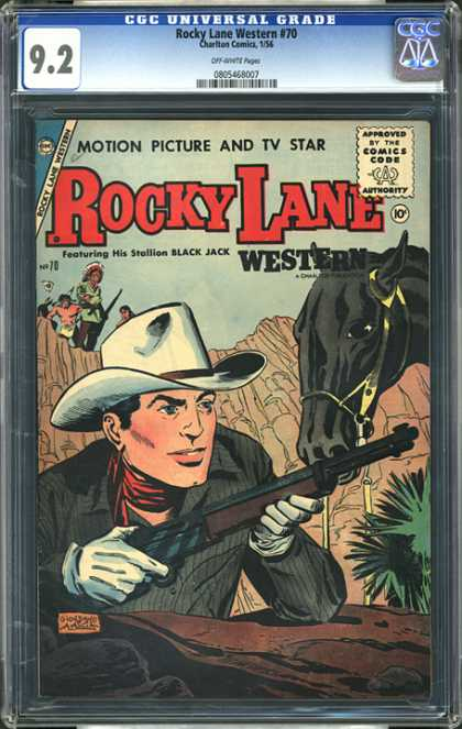 CGC Graded Comics - Rocky Lane Western #70 (CGC)