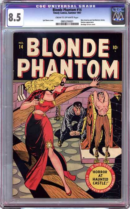 CGC Graded Comics - Blonde Phantom #14 (CGC)