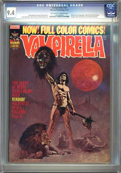 CGC Graded Comics - Vampirella #25 (CGC)