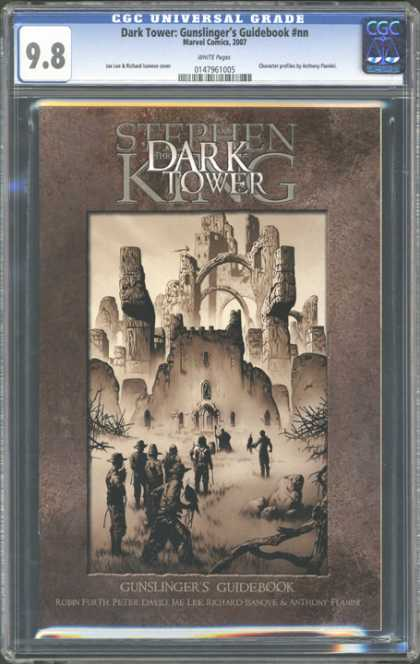 CGC Graded Comics - Dark Tower: Gunslinger's Guidebook #nn (CGC) - Stephen King - The Dark Tower - Gunslingers Guidebook - Robin Furth - Peter David