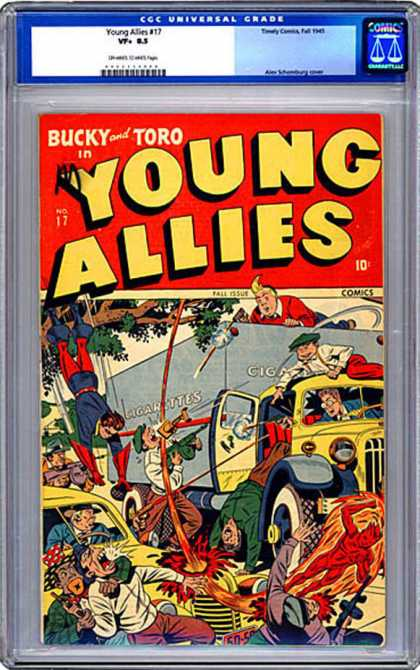 CGC Graded Comics - Young Allies #17 (CGC)