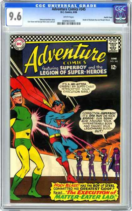 CGC Graded Comics - Adventure Comics #345 (CGC)