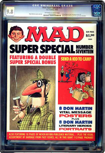 CGC Graded Comics - Mad Super Special #17 (CGC)
