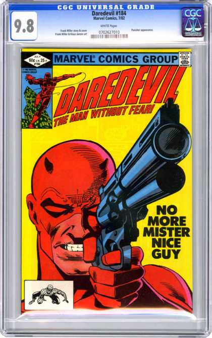 CGC Graded Comics - Daredevil #184 (CGC)