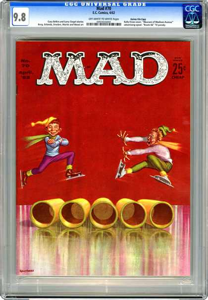 CGC Graded Comics - Mad #70 (CGC)