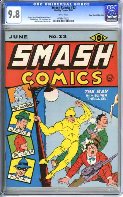 CGC Graded Comics - Smash Comics #23 (CGC)