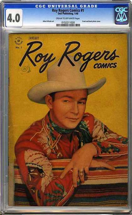 CGC Graded Comics - Roy Rogers Comics #1 (CGC)