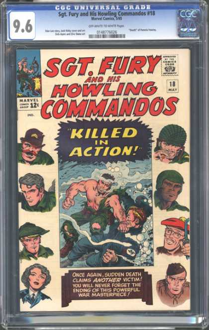 CGC Graded Comics - Sgt. Fury and His Howling Commandos #18 (CGC)