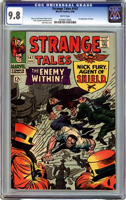 CGC Graded Comics - Strange Tales #147 (CGC)