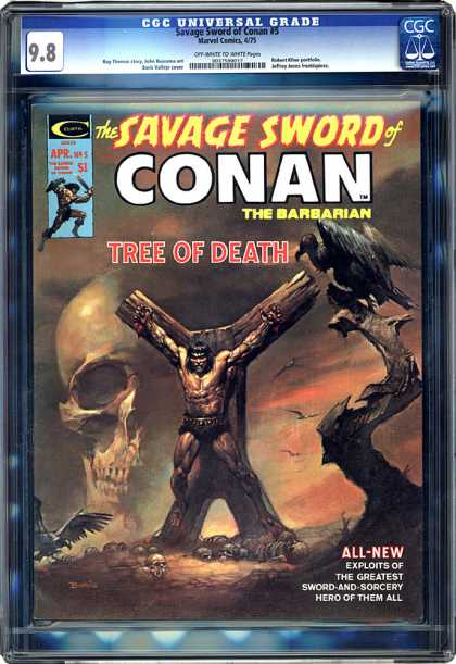 CGC Graded Comics - Savage Sword of Conan #5 (CGC)