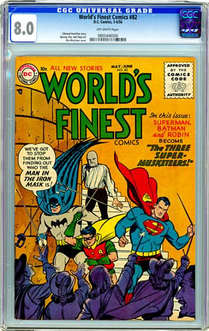 CGC Graded Comics - World's Finest Comics #82 (CGC)