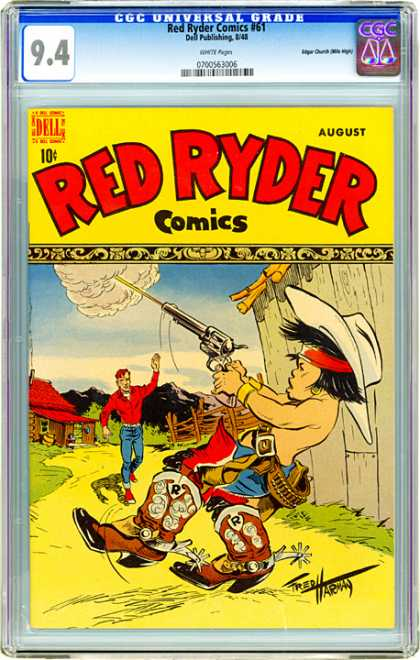 CGC Graded Comics - Red Ryder Comics #61 (CGC)