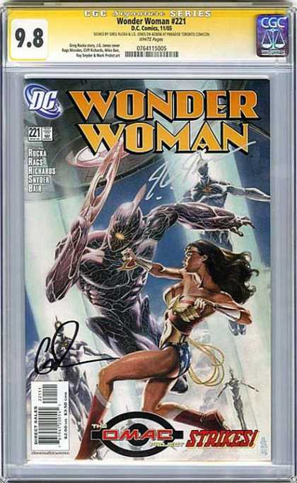 CGC Graded Comics - Wonder Woman #221 (CGC)