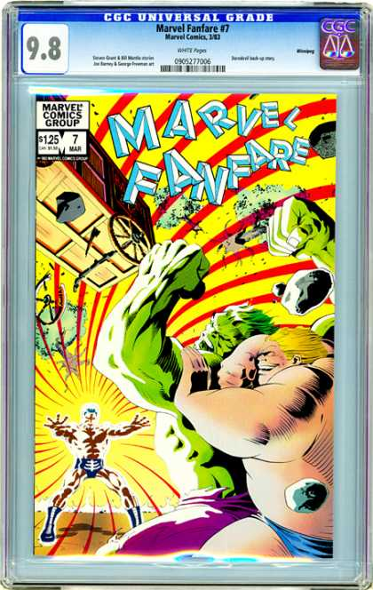 CGC Graded Comics - Marvel Fanfare #7 (CGC)